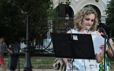 Letture brani a Piazza Vittorio